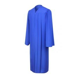 Matte Royal Blue Middle School Gown