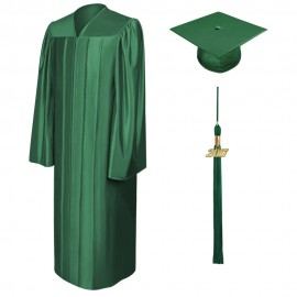 Shiny Hunter Middle School Cap, Gown & Tassel