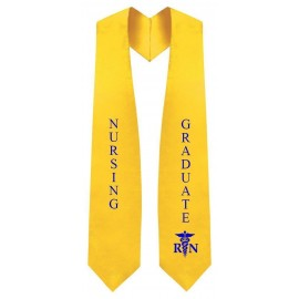 Nursing Gold Graduation Stole