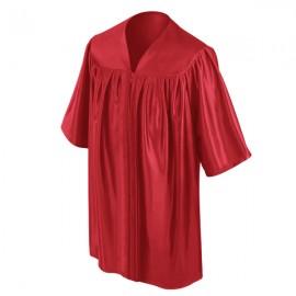 Red Kindergarten Gown