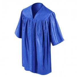 Royal Blue Preschool Gown