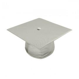 Shiny Silver Elementary  Cap