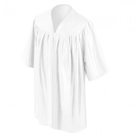 White Preschool Gown