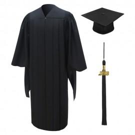 Deluxe Master Academic Cap, Gown & Tassel
