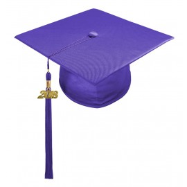 Purple Preschool Cap & Tassel
