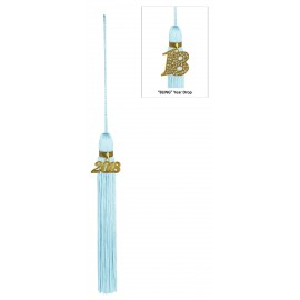 Light Blue Jumbo Tassel