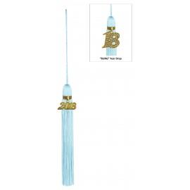 Light Blue Jumbo Tassel