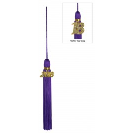 Purple Jumbo Tassel