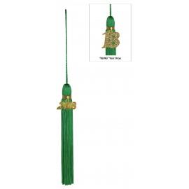 Green Jumbo Tassel