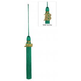 Emerald Green Jumbo Tassel