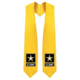 U.S Army Gold Graduation Stole