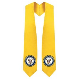 U.S Navy Gold Graduation Stole