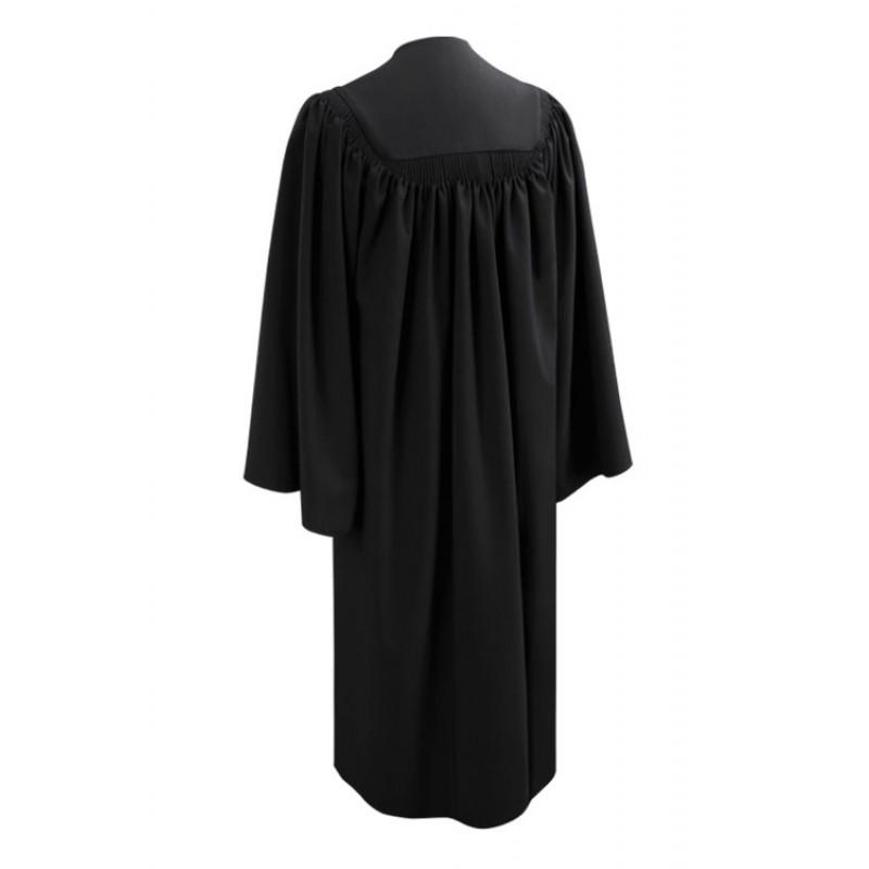 Deluxe Black Bachelor Gown | Gradshop