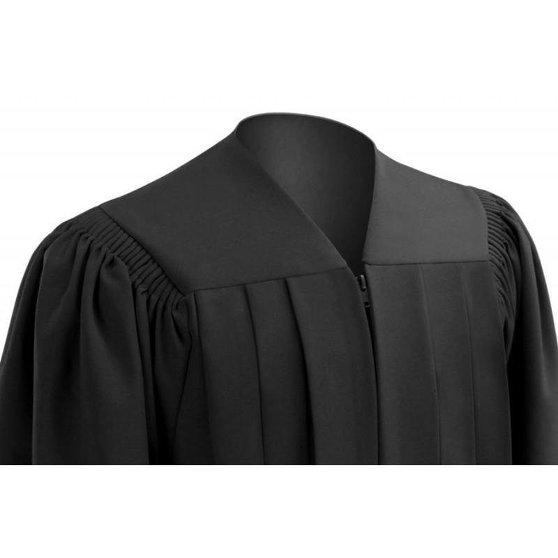 Deluxe Black High School Cap, Gown & Tassel | Gradshop