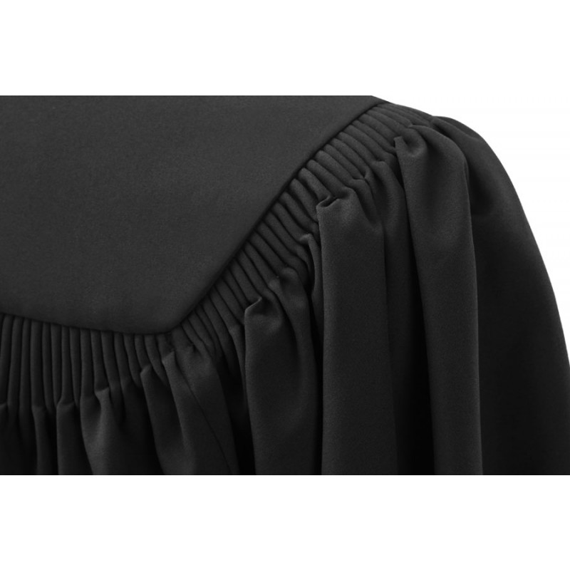 Deluxe Black High School Cap, Gown & Tassel | Gradshop