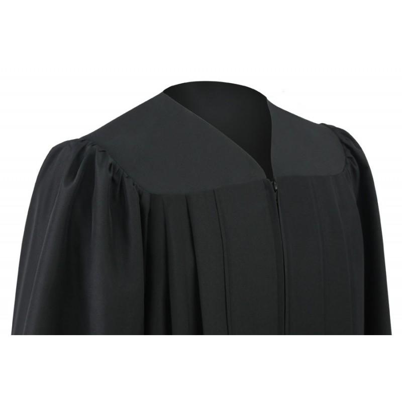 Eco-Friendly Black Bachelor Gown | Gradshop