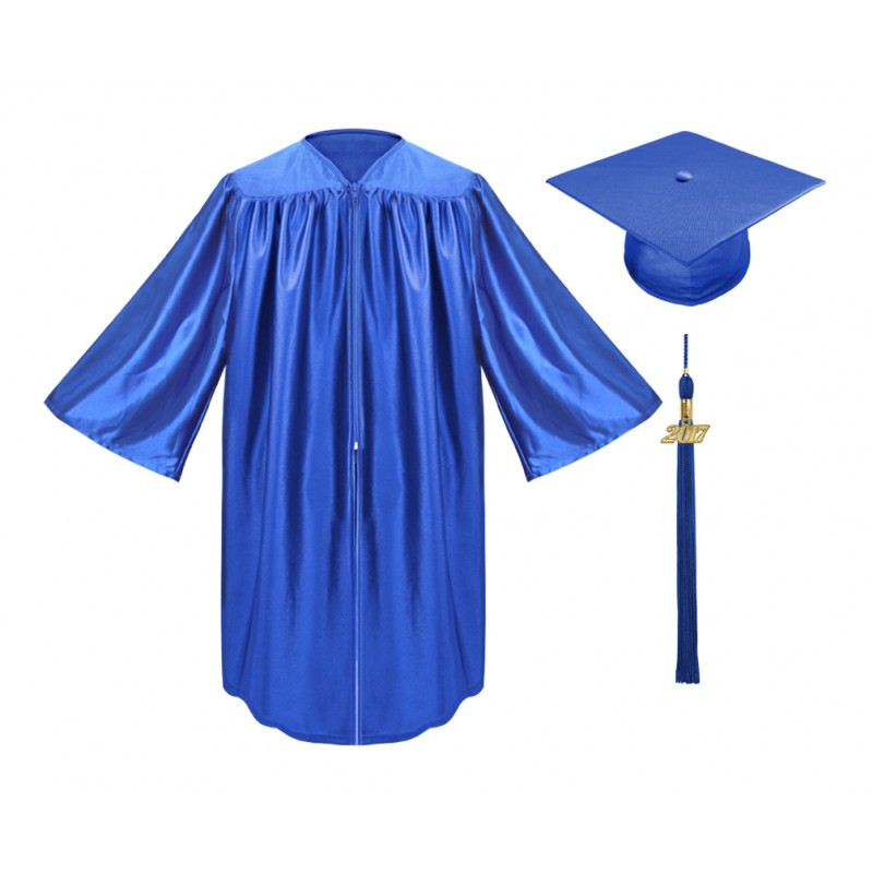 Royal Blue Kindergarten Cap, Gown & Tassel | Gradshop