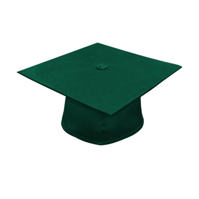 Matte Hunter Elementary Cap Gown Tassel Gradshop