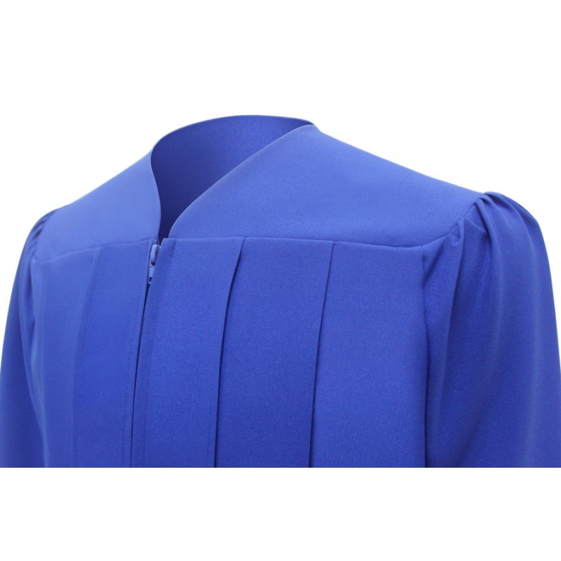 Matte Royal Blue High School Cap, Gown & Tassel | Gradshop