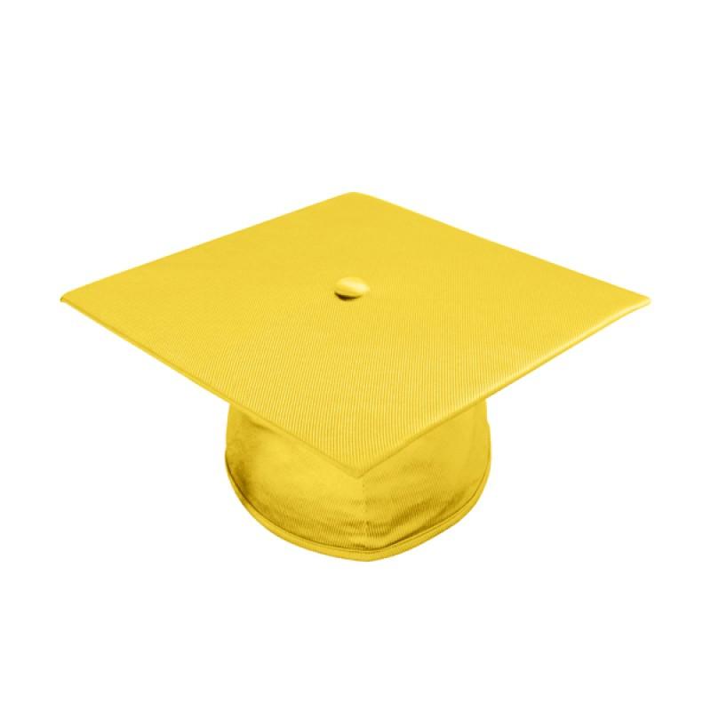 Gold graduation cap clip art
