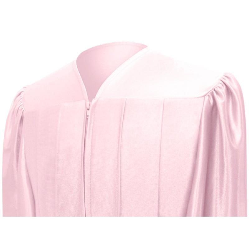 Shiny Pink Elementary Cap, Gown & Tassel | Gradshop