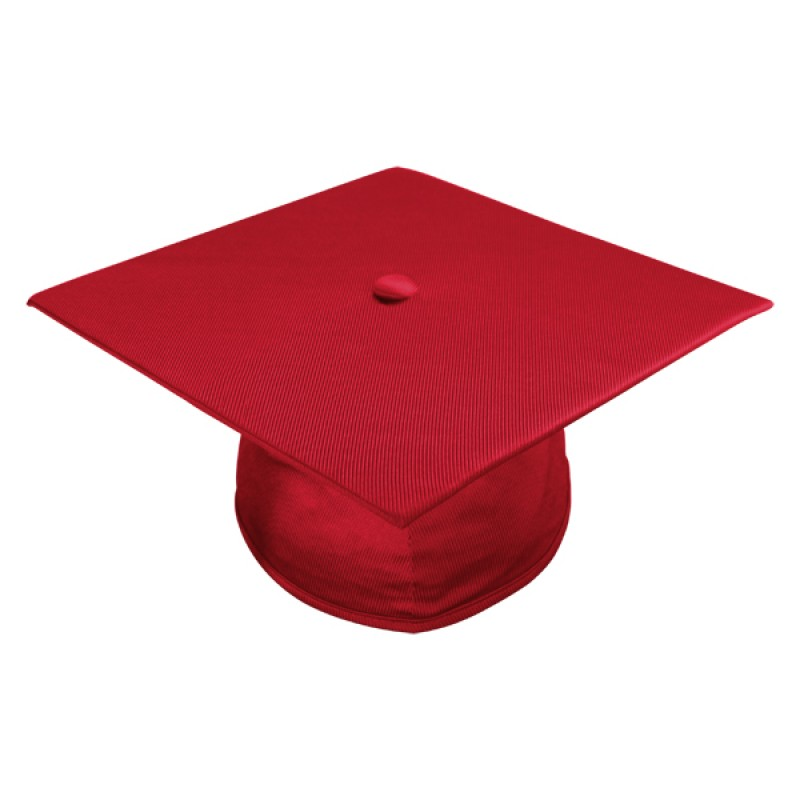 Shiny Red Middle School Cap, Gown & Tassel | Gradshop