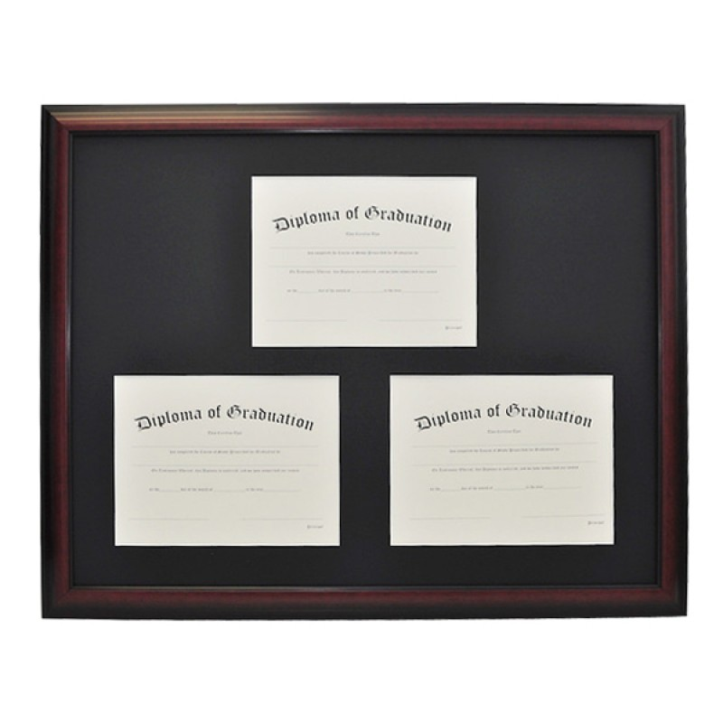 University Triple Document Diploma Frame | Gradshop