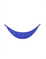 Shiny Royal Blue High School Collar