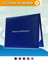 Imprinted Graduation Diploma Covers