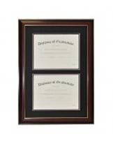 High School Double Document Diploma Frame