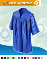 Kindergarten Graduation Gowns