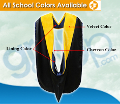 Buy Academic Graduation Hoods Hoods | Gradshop