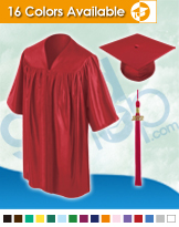 Kindergarten Graduation Caps & Gowns