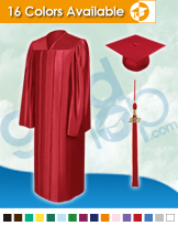 High School Graduation Caps, Gowns and Tassels