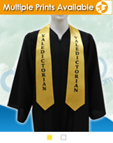 Imprinted Graduation Stoles