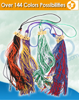 Double Color Tassels