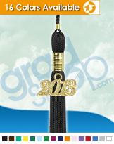 Black Graduation Tassels