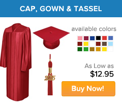 Graduation Gowns, Graduation Caps and Tassels | Gradshop