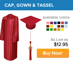 Cap, Gown & Tassel