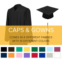 Arizona State University Caps and Gowns