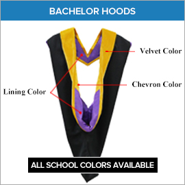 Bachelor Hoods Louisburg College