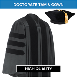 Doctorate Tam & Gown Eastern Illinois University