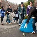 On Campus Spring Cleanups